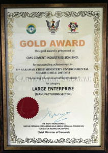 Gold Award for Large Enterprise (Manufacturing Sector)